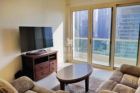 1 Bedroom Flat for Rent in Dubai Marina, Dubai - Great Views * Nicely Furn * Chiller incl*