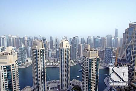 2 Bedroom Apartment for Rent in Dubai Marina, Dubai - 2 Bedroom | Fully Furnished | High Floor