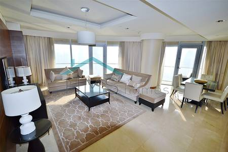3 Bedroom Apartment for Rent in Downtown Dubai, Dubai - 3 BEDROOMS | FURNISHED | BURJ AND FOUNTAIN VIEWS