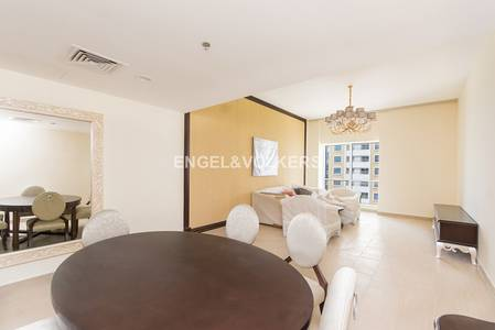 2 Bedroom Hotel Apartment for Sale in Dubai Marina, Dubai - Spacious two bedroom serviced apartment.