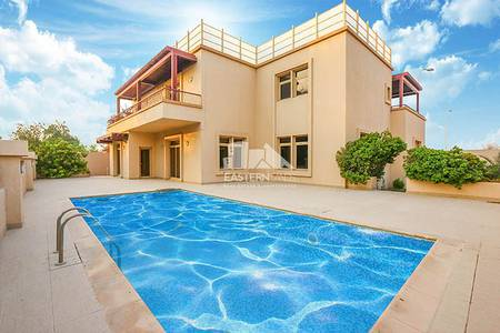 6 Bedroom Villa for Sale in Al Raha Golf Gardens, Abu Dhabi - Private Pool