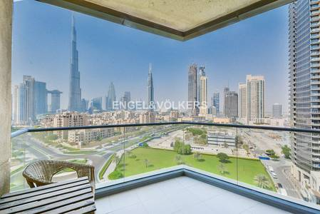 Burj Khalifa View | Mid Floor Corner Unit