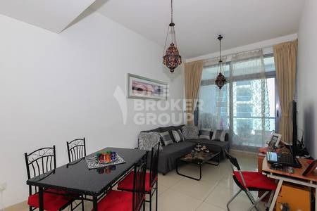 1 Bedroom Apartment for Sale in Dubai Marina, Dubai - Great Investment! 1BR+storage by metro!