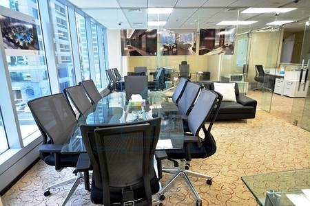 Office for Rent in Jumeirah Lake Towers (JLT), Dubai - Exceptional fitted office with lake view