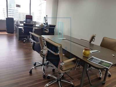 Office for Sale in Jumeirah Lake Towers (JLT), Dubai - Fully Furnished Office In Silver Tower  Jlt