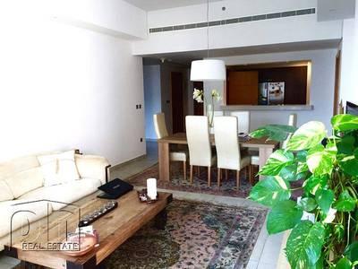 شقة 2 غرفة نوم للبيع في نخلة جميرا، دبي - Sea and Dubai Eye View| High Floor |Vacant