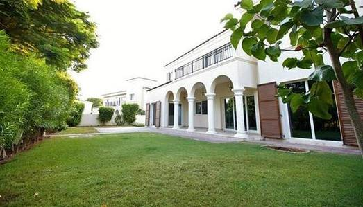 5 Bedroom Villa for Rent in Motor City, Dubai - Lush Green Must View 5 BR M Family Villa