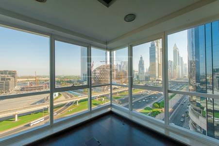 Office for Sale in Sheikh Zayed Road, Dubai - Sea View Offices for Sale in Latifa Tower