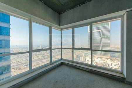 Office for Sale in Sheikh Zayed Road, Dubai - Freehold Offices on High Floor in Latifa Tower