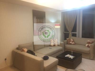 1 Bedroom Flat for Rent in Dubai Marina, Dubai - fully furnished one bedroom for rent in dubai marina waves tower pool view neat & clean