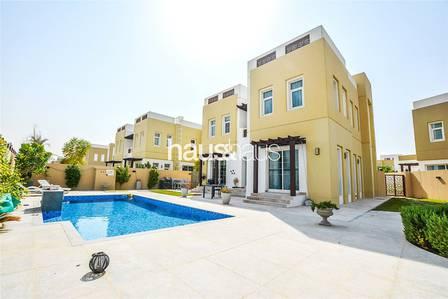فیلا 3 غرف نوم للبيع في مدن، دبي - Modern Upgrades   7K Plot   Private Pool