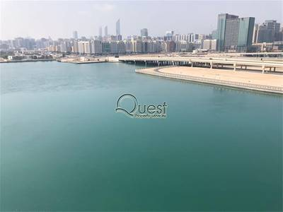 3 Bedroom Flat for Rent in Al Reem Island, Abu Dhabi - Amazing Marina View 3 BR + M with balcony in Bay View Tower!
