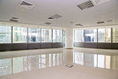 Office for Rent in Jumeirah Lake Towers (JLT), Dubai - Fully Fitted Office in  Silver Tower