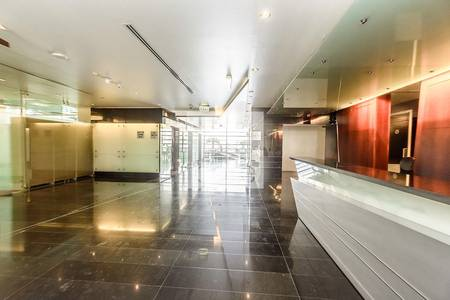 Office for Rent in Dubai Media City, Dubai - Fitted partitioned office in Arenco Tower