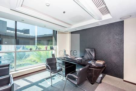 مکتب  للايجار في القوز، دبي - Fully fiitted office available now in GDP