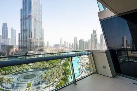 3 Bedroom Flat for Sale in Downtown Dubai, Dubai - EXCLUSIVE - Burj Vista 3BR Burj Khalifa view