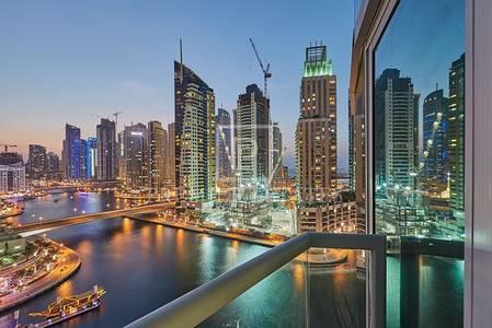 2 Bedroom Flat for Sale in Dubai Marina, Dubai - Marinascape Oceanic Furnished 2+maid Marina view