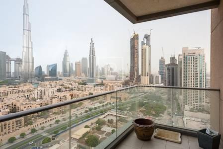 3 Bedroom Flat for Sale in Downtown Dubai, Dubai - 3BR plus Maids - Amazing Burj Khalifa view