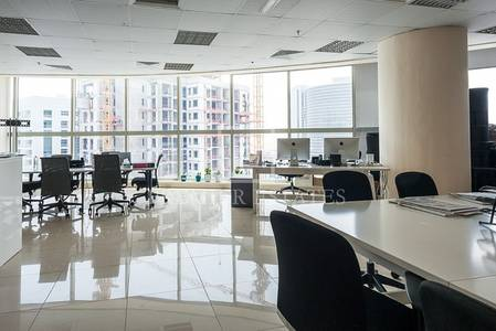 Office for Rent in Barsha Heights (Tecom), Dubai - Fully Fitted Office on a High Floor - Tecom