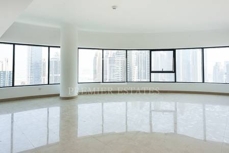 3 Bedroom Apartment for Rent in Dubai Marina, Dubai - Time Place Tower 3BR with Full Marina View