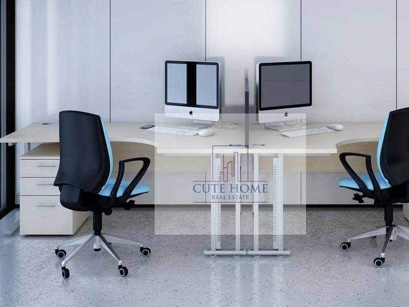 Flexi Desk || Furnished || Free Services|| One Year Contract|| Only 12,000 !!
