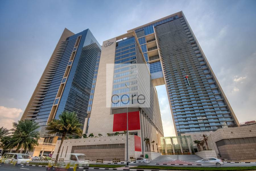 10 Ample parking semifitted office Burj Daman