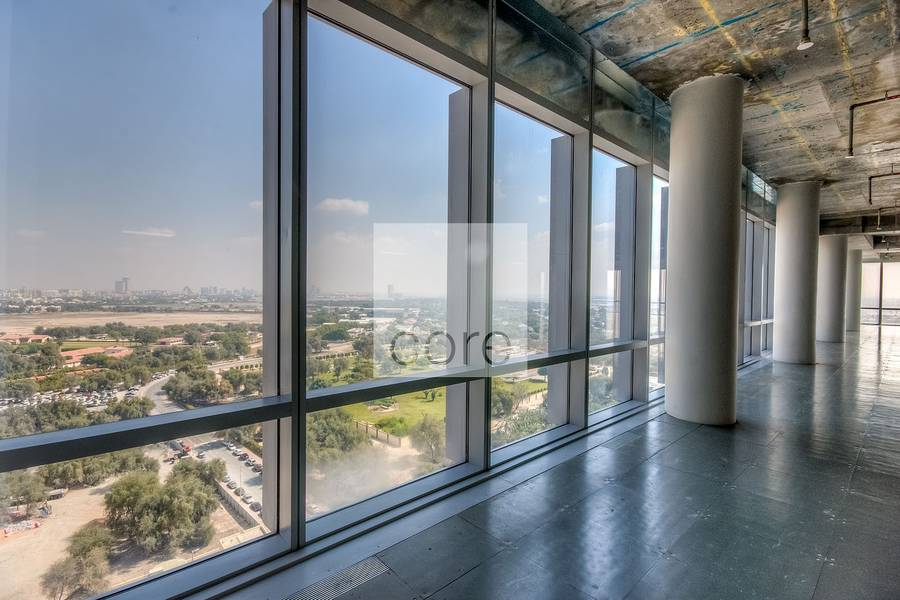 2 Extensive semi fitted office in Burj Daman
