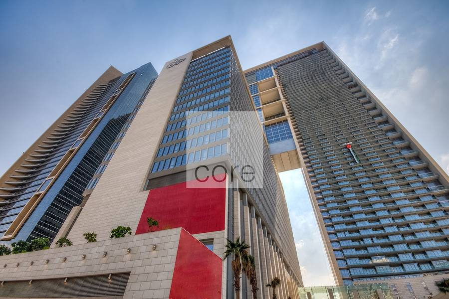 10 Extensive semi fitted office in Burj Daman