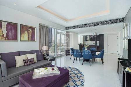2 Bedroom Hotel Apartment for Rent in Business Bay, Dubai - Fully Furnished - Largest Units available