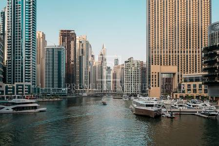 3 Bedroom Flat for Rent in Dubai Marina, Dubai - Fully furnished 3 bed with full marina view in Silverene