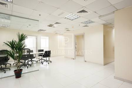 Office for Rent in Jumeirah Lake Towers (JLT), Dubai - Fully fitted modern office