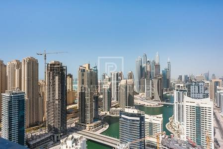 2 Bedroom Apartment for Sale in Dubai Marina, Dubai - Vacant 2BR Apt with stunning Marina Views