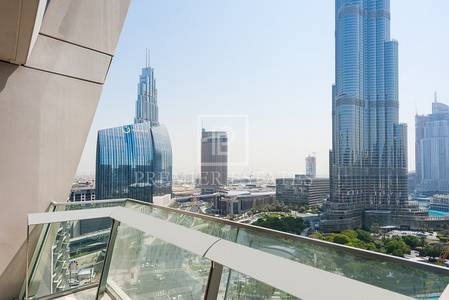 2 Bedroom Apartment for Rent in Downtown Dubai, Dubai - Amazing View 2BR