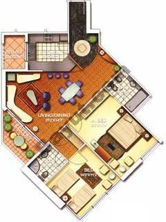 2 Bedroom Nice 2B Floors (3-25)