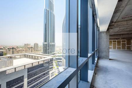 Office for Sale in Downtown Dubai, Dubai - Shell and core office I Boulevard Plaza 2