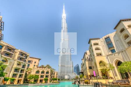 Office for Rent in Downtown Dubai, Dubai - Shell and core for rent  in Burj Khalifa