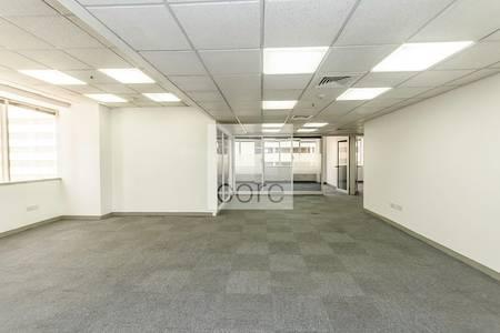 مکتب  للايجار في شارع الشيخ زايد، دبي - Fitted partitioned office in Al Moosa T1