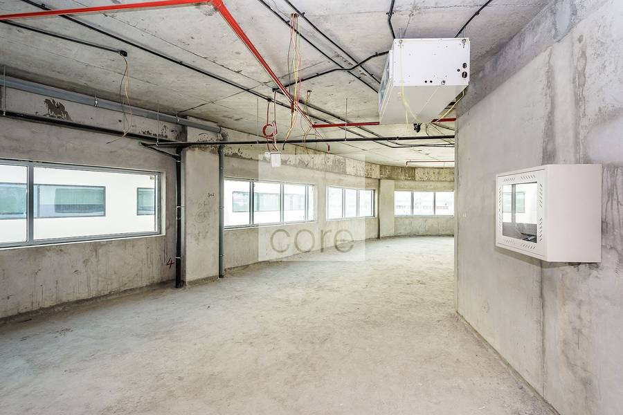 10 Full Floor Office Space I Shell and Core