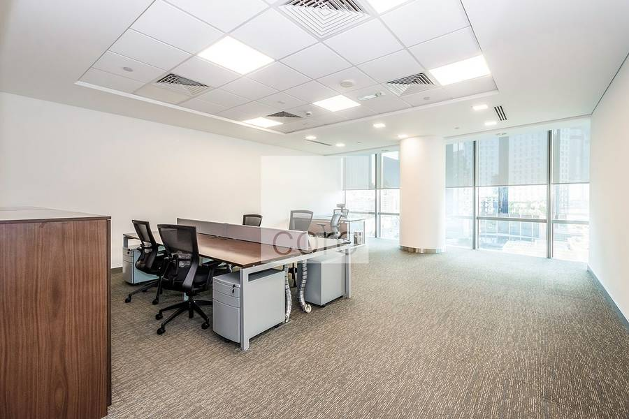 Fitted office w/ good layout |Emirates Towers
