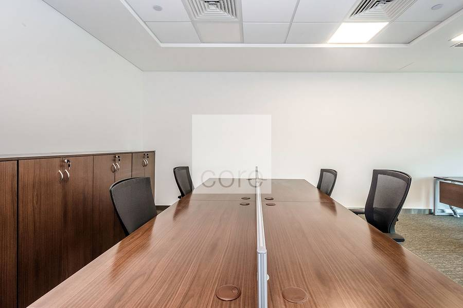 2 Fitted office w/ good layout |Emirates Towers