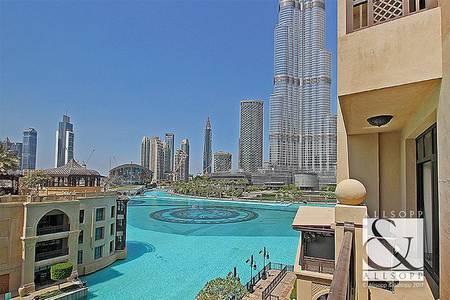 1 Bedroom Apartment for Rent in Downtown Dubai, Dubai - 1 Bedroom | Full Khalifa & Fountain View