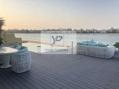 4 Bedroom Villa for Sale in Palm Jumeirah, Dubai - Fully upgraded | High number | Extended plot