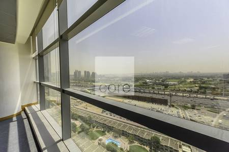 Office for Rent in Dubai Media City, Dubai - Fitted office for rent in Shatha Tower