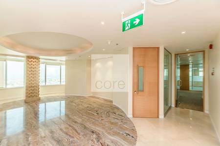 Office for Rent in Sheikh Zayed Road, Dubai - High floor fitted offices in Al Moosa T2