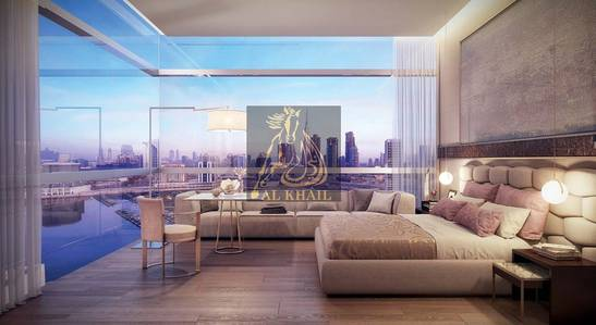 Studio for Sale in Downtown Dubai, Dubai - Magnificent Studio Apartment for sale in Downtown Dubai | Fully Furnished | 18 Months Post Handover | Dubai Canal View