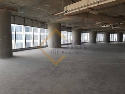 Office for Rent in Al Reem Island, Abu Dhabi - Nice office with Sea view - Shell & Core
