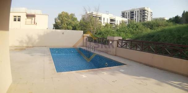 6 Bedroom Villa for Sale in Al Raha Golf Gardens, Abu Dhabi - Vacant|6+M Br Corner villa Pvt.Pool|Sale