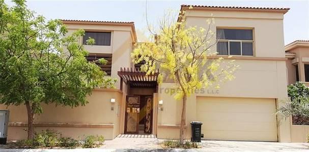 5 Bedroom Villa for Rent in Al Raha Golf Gardens, Abu Dhabi - Fully furnished 5 BR+M Villa w Pvt Pool