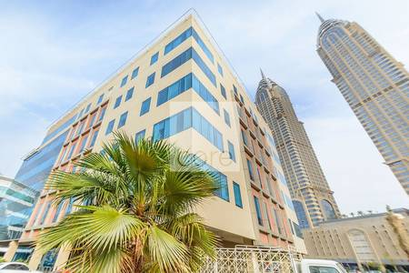 Floor for Rent in Dubai Media City, Dubai - Fitted office with Partition in  Rimco
