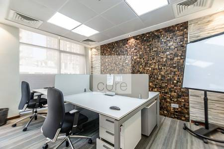 Office for Rent in Al Sufouh, Dubai - Fitted and furnished office Design House
